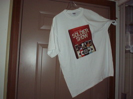 2010 Men's X-L 2-Sided T-SHIRT The U.S. Army Soldier Show By Gildan - Unused - $21.00