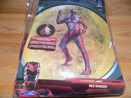 Men's Size Medium 38-40 Power Rangers Red Ranger Halloween Costume Bodys... - $45.00