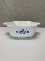Corning Ware Blue Cornflower 1 1/2 Quart Casserole/baking Dish P-11/2-B - $12.16