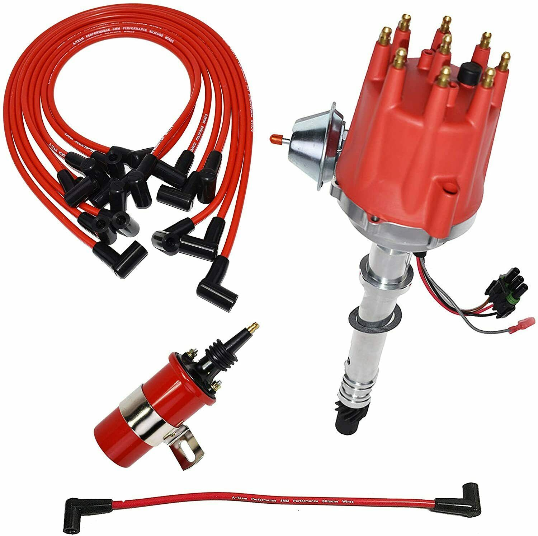 Chevy GMC Pro Series R2R Distributor 327 350 396 454 8mm Spark Plug Kit