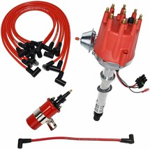 Chevy GMC Pro Series R2R Distributor 327 350 396 454 8mm Spark Plug Kit image 1