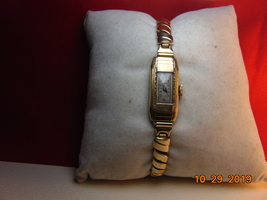 Lady's, 10 Karat Rolled Gold Plate, Bulova, 4AF Swiss Movement Wristwatch - $29.99
