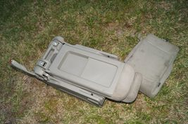 05-10 Honda Odyssey Plus One Center Middle Jump Seat FABRIC / CLOTH - Olive image 11