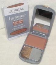 L'oreal Feel Naturale Light Softening Powder Blush in Caramel - $29.95