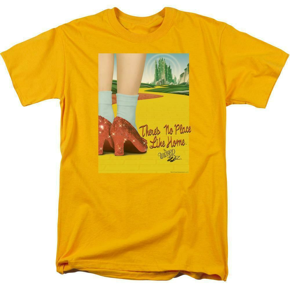 The Wizard of Oz t-shirt No place like home retro 30's gold graphic tee OZ111