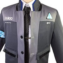 1791's lady Cosplay Mens Suit for Become Human Connor Coat Jacket Shirt ... - $98.90