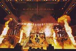KISS Rock Band 24 x 36 Alive II Full Stage Shot Reproduction Poster - Co... - $45.00