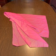 Woman's Women Large Bright Pink Scarf 21 x 70 AS IS - $9.74