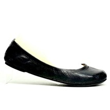 Lucky Brand Emmie Womens Black Leather Closed Toe Ballet Flats Size 6.5M - $14.99