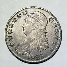 1826 Capped Bust Half Dollar 50c Coon Lot A 107