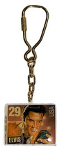 VINTAGE 1992 ELVIS PRESLEY KEY CHAIN USA 29 CENT STAMP AWESOME  - $8.91