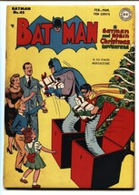 Batman #45 1948-Catwoman-Christmas cover-comic book-DC Golden-Age FN+ - $756.60