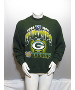Green Bay Packers Sweater (VTG) - 1996 NFC Champs by Pro Player - Men's ... - $55.00