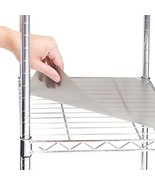 Seville Classics 2 Individual Smoke Gray Fitted Shelf Liners, Designed t... - $13.53
