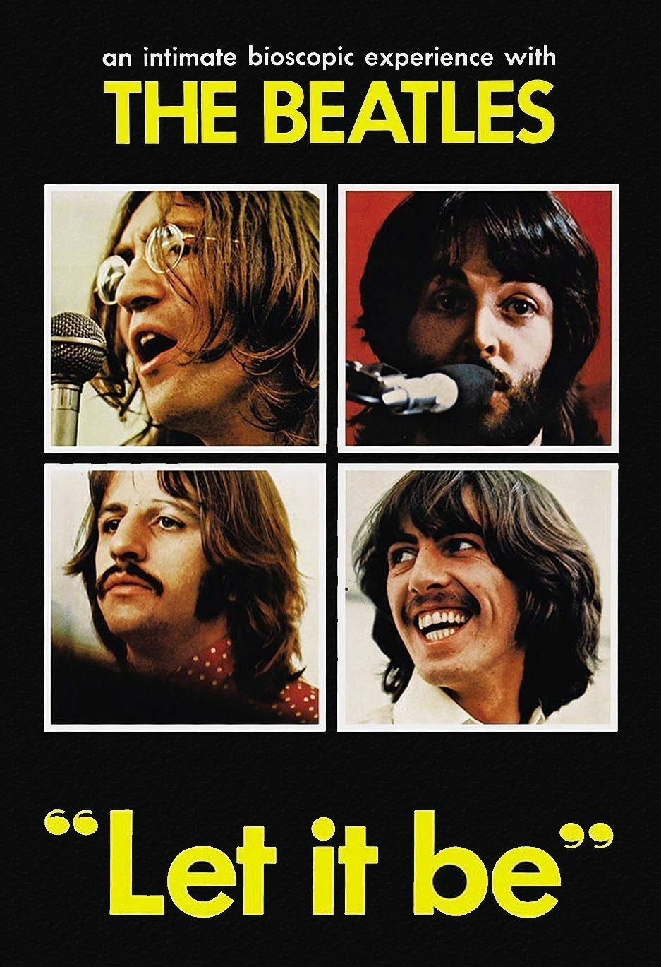 Primary image for The Beatles Let it Be 1970 DVD Free USA Shipping