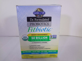 Garden of Life Dr.Formulated FitBiotic 20 Packets {VS-G} - $14.96