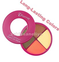 Flormar Pretty Compact Quartet Eye Shadow 14g. Long-Lasting Colors - $12.07