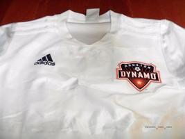 adidas climalite Houston Dynamo Youth Soccer Jersey Medium M home white ... - €15,83 EUR