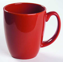Vintage (1) Red Color Corelle By Corning Collectible Stoneware Mug - $8.99