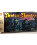 Vintage 1984 MYSTERY MANSION Board Game by Milton Bradley Search Rooms C... - $44.55