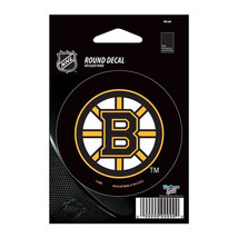 "2 NHL Boston Bruins WCR66220091 Round Vinyl Decal, 3"" x 3"" FREE SHIPPING - $4.49"