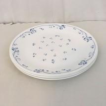 Corning Corelle Provincial Blue Vtg USA Made Dinner Plates (4) - $38.61