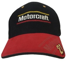 An item in the Fashion category: Motocraft  Bill Elliott Cap Hat Nascar Air Force Woods Brothers NWT 2008