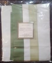 "NWT  Restoration Hardware ""Double Stripe"" Silver Sage King Pillow Sham  - $25.69"