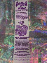 RARE FULL STRIP Lisa Frank Bubble Stickers COSMIC SUNDAE Vintage 90s Ice Cream image 6