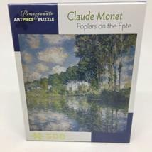 Pomegranate Artpiece 500 pc. Puzzle- Claude Monet Poplars on the Epte 20... - $21.49