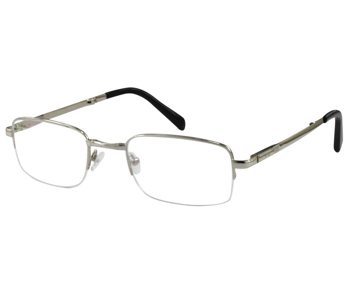 ac23463123ec S l1600. S l1600. Previous. EBE Reading Glasses Mens Folding Spring Hinge  Silver Anti Glare Lenses