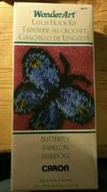 Wonder Art Caron Latch Hook Kit Butterfly 12'' x 12'' model 4677 free shipping - $14.95