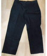 Womens Riders by Lee Black Stretch 18 M Waist 36 X 28.5 inches - $14.84