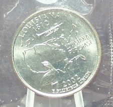 2002-D Louisiana State Quarter MS65 in the Cello #864 - $0.99