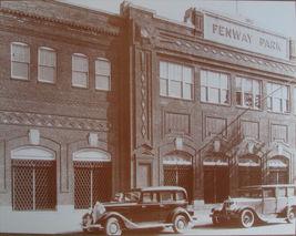 Fenway Park 1930 Boston Red Sox Vintage 11X14 Sepia Baseball Memorabilia Photo - $9.95