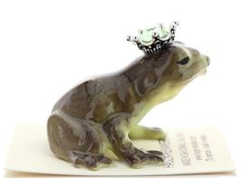 Hagen-Renaker Miniature Frog Prince Kissing Birthstone 07 August Peridot image 2