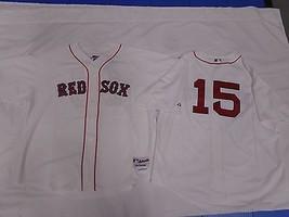 Boston Red Sox Dustin Pedroia MLB Baseball Jersey Sewn White Size XXL 52... - $101.57