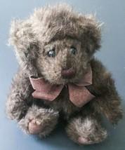 Mini Cinnamon Teddy Bear Bath And Body Works Stuffed Animal Plush Toy Dark Brown - $13.85