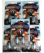 Rhino 150k extreme blue 5pack-10pill combo  - $39.99
