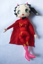 "New 17"" Red Devil Betty Boop Plush Doll Dress Halloween Costume Stuffed ... - $19.10"