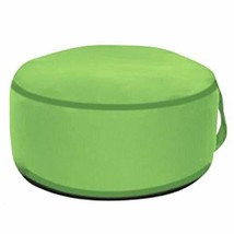 Art Leon Outdoor Inflatable Ottoman Green Round Patio Footstool for Kids... - $28.32