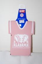 ALABAMA CRIMSON TIDE NCAA PINK BOTTLE DRESS COOZIE KOOZIE KOLDER - $5.93