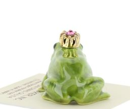 Birthstone Frog Prince October Simulated Tourmaline Miniatures by Hagen-Renaker image 3