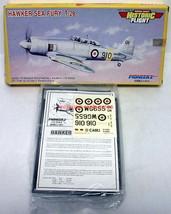 Pioneer2~4014~1:72~Hawker Sea Fury T-20~British Royal Navy Trainer~Model Kit - $14.00