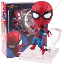 Marvel Spider Man Homecoming Spiderman Toys Nendoroid 781 Spider man Fig... - $22.70