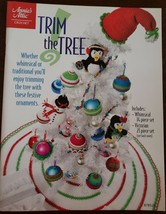 Annie's Attic Crochet Crochet Trim The Tree 2010 - $8.00