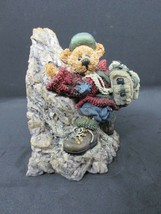 BOYDS BEARS & FRIENDS Bearstone Collection #2279 Sir Edmund...Persistence 1996 - $24.95