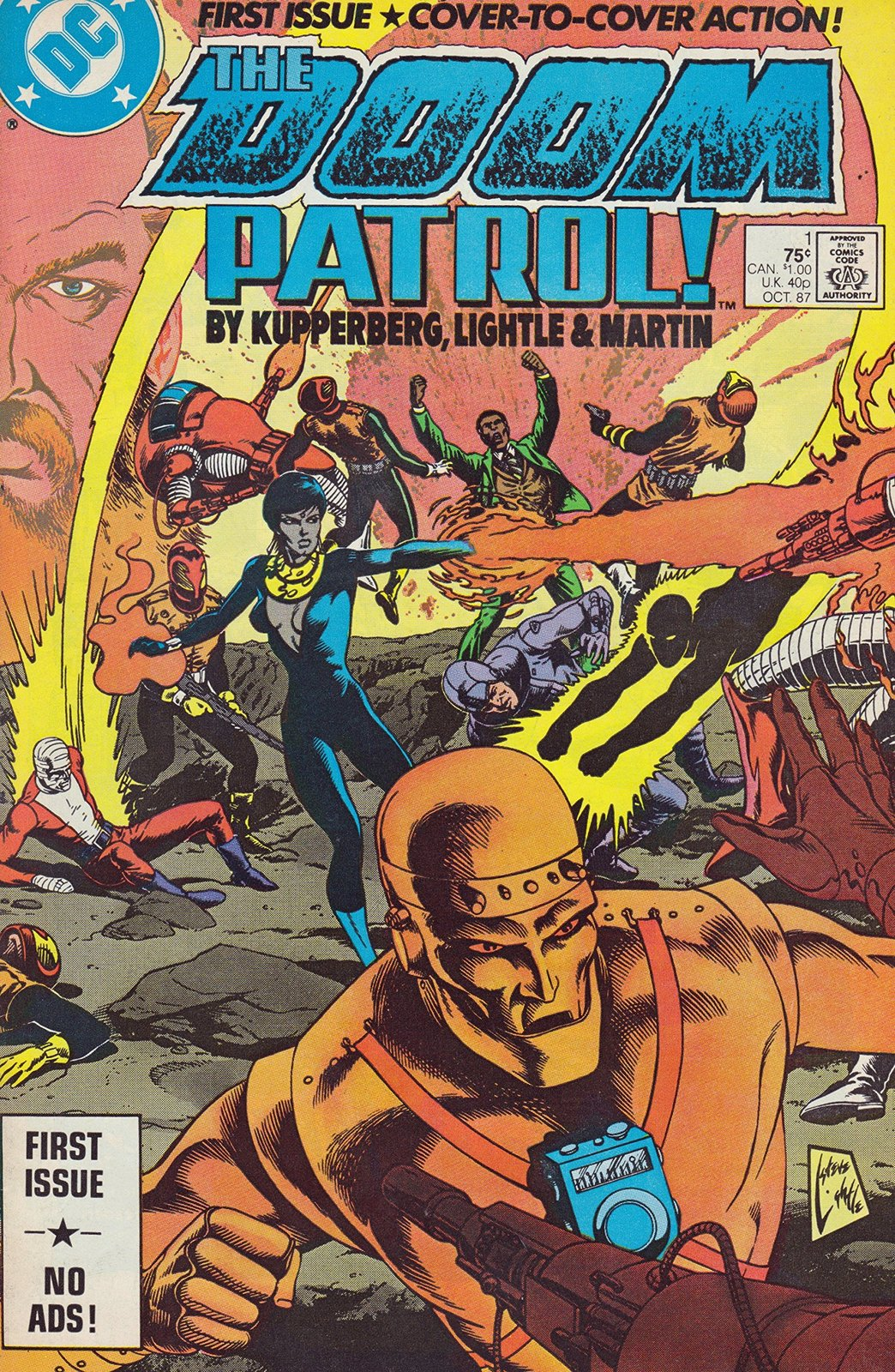 Doom Patrol #1 DC [Paperback] [Jan 01, 1987] Kupperberg ; Lightle ; Martin and I