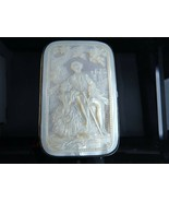 c1880 Carved Mother of Pearl Wallet - $462.83