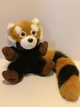 "Wildlife Artists Plush Raccoon 9"" Tall Soft Stuffed Animal 17"" Long Tail... - $15.83"